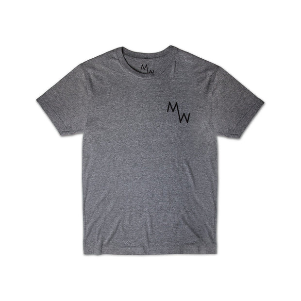 Classic Tee - Heather Grey - Men's T-Shirt - MadeWest Brewery
