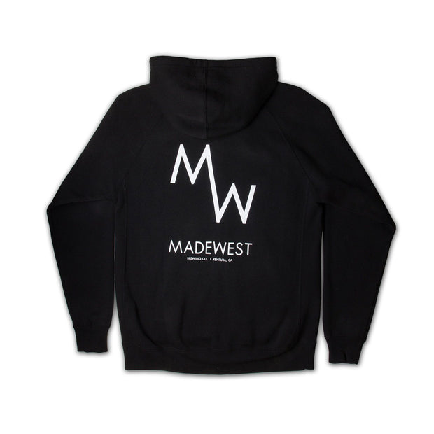 Classic Hoodie - Black - Men's Sweatshirt - MadeWest Brewery