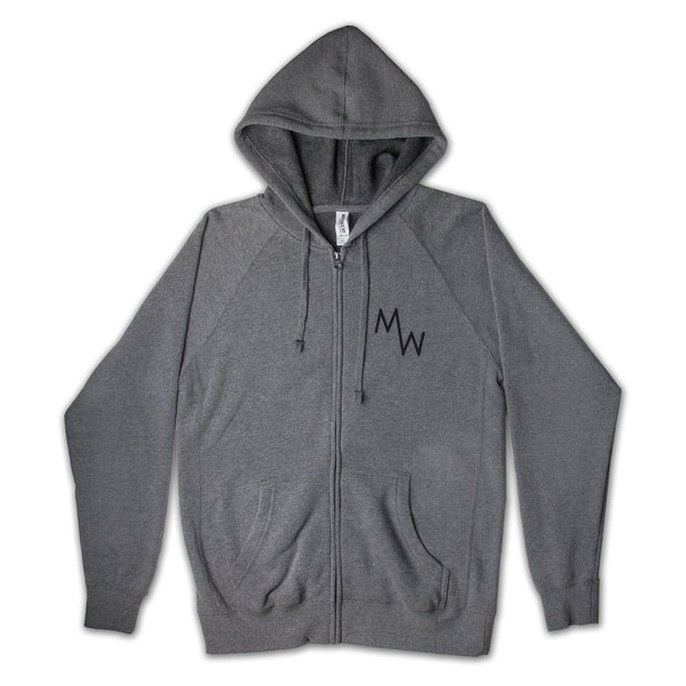 Classic Hoodie - Grey - Men's Sweatshirt - MadeWest Brewery
