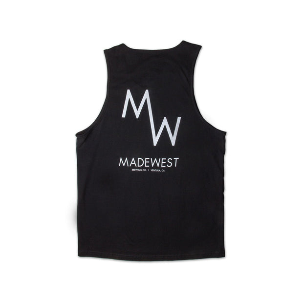 Classic Tank - Black - Men's Tank Top - MadeWest Brewery