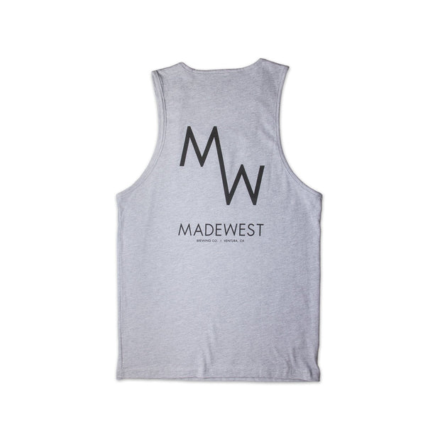 Classic Tank - Heather Grey - Men's Tank Top - MadeWest Brewery