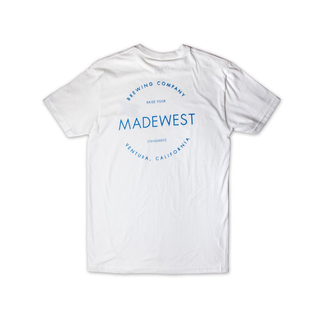 BIV Tee - White - Men's T-Shirt - MadeWest Brewery