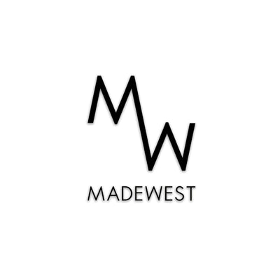 MadeWest Die Cut Sticker - Black