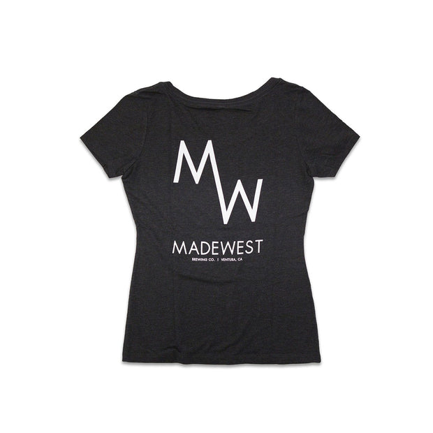 Women's - Classic Tee - Black - Womens T-Shirt - MadeWest Brewery