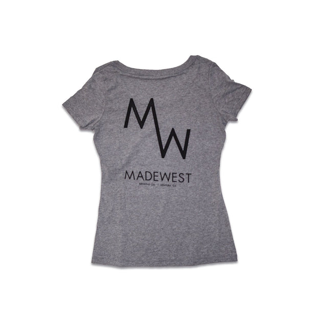 Women's - Classic Tee - Heather Grey - Womens T-Shirt - MadeWest Brewery