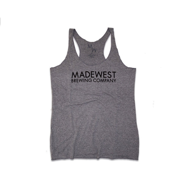 Women's - Lager Tank - Heather Grey - Womens T-Shirt - MadeWest Brewery