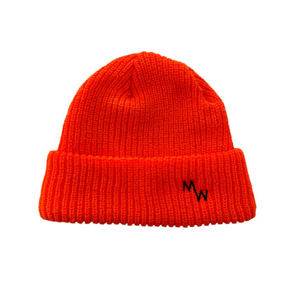 Woodsman Beanie - Blaze Orange