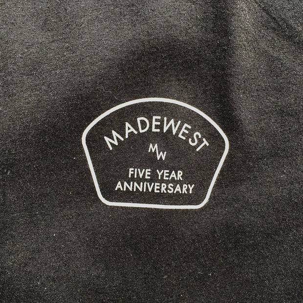 5 Year Anniversary Tee - Black