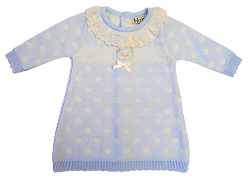 Baby Knitted Blue Dress