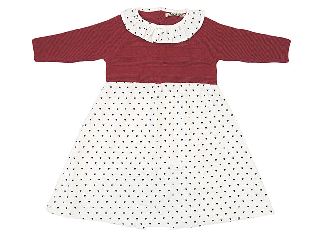 Knitted Little Girl Dress