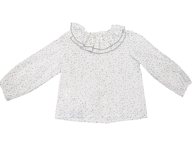 Silver Star Baby Blouse