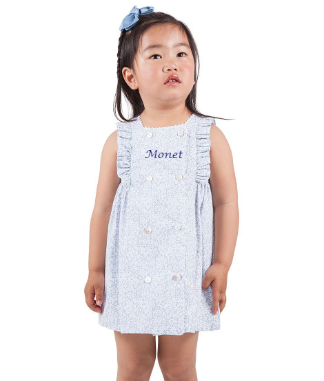 Baby Girl Grey Frill Dress