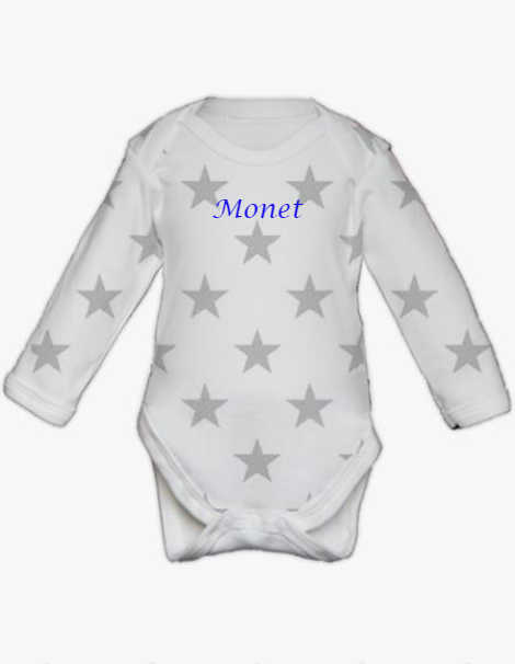 Long Sleeve Bodysuit - Star