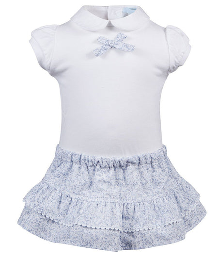 Baby Dress with Bonnet
