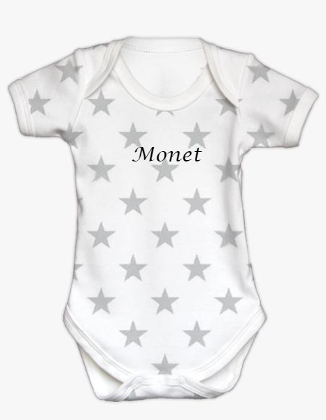 Short Sleeve Bodysuit - Star