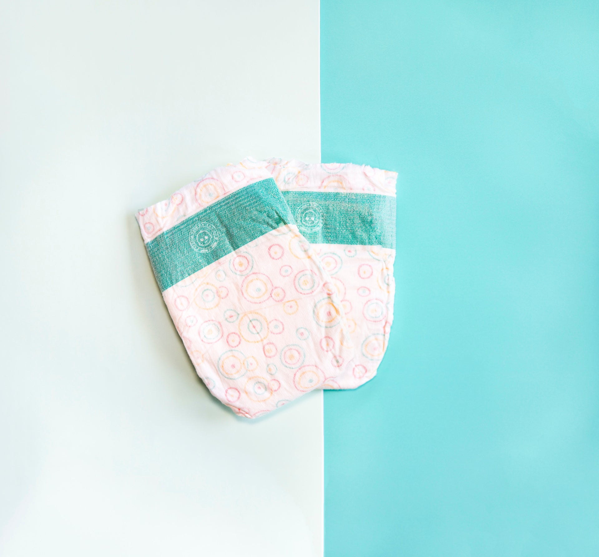 Natural Bamboo Little Toes diaper pair