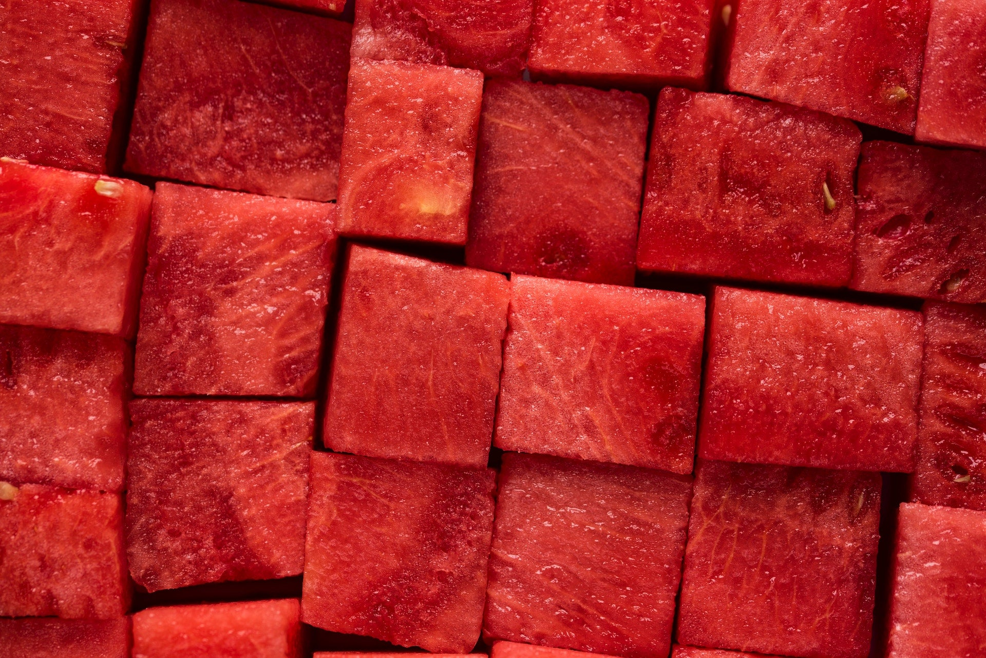 Water melon pieces