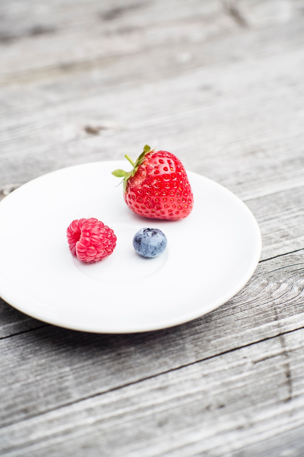Berries in plate