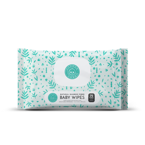Little Toes Natural Bamboo Fiber Baby Wipes- (75 Wipes)