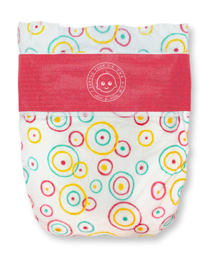 Little Toes Disposable Biodegradable Bamboo Diapers 216 Packs LARGE Monthly Subscription Pack