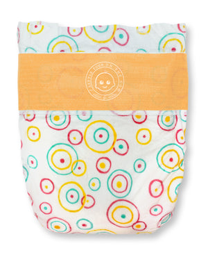 Lotta Poop | 3 Complete Diaper Change Sets | Size Medium | Fabric Case (13-24 lbs)