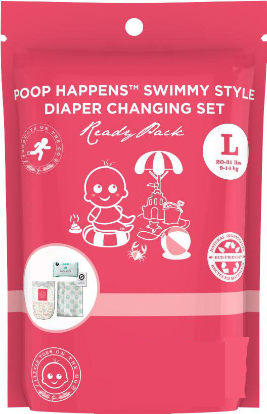 Little Toes Swimmy Diaper Change Set - Large (27+ lbs / 12+ Kgs)