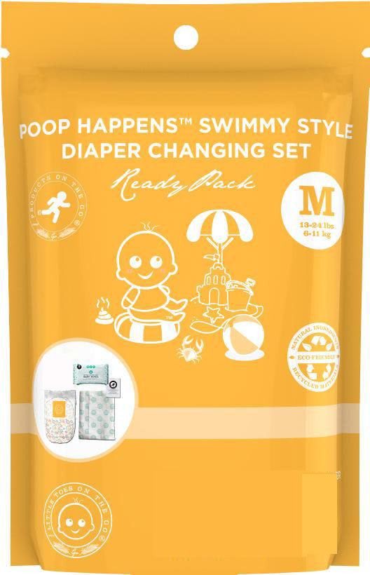 Little Toes Swimmy Diaper Change Set - Medium (19-30lbs / 9-14 Kg)