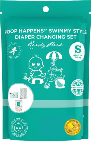 Poop Happens Swimmy Style Complete Diaper Changing Set