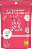 Poop Happens One Complete Diaper Change Set