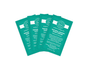 Convenience On The Go Natural Diaper Rash Cream - (4 Packets)