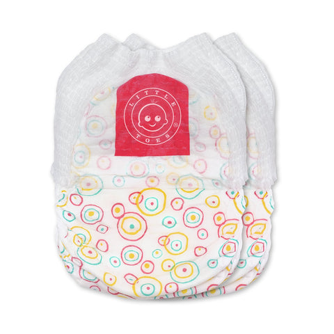 Little Toes Convenience On The Go 2x Swimmy Diapers large size pack