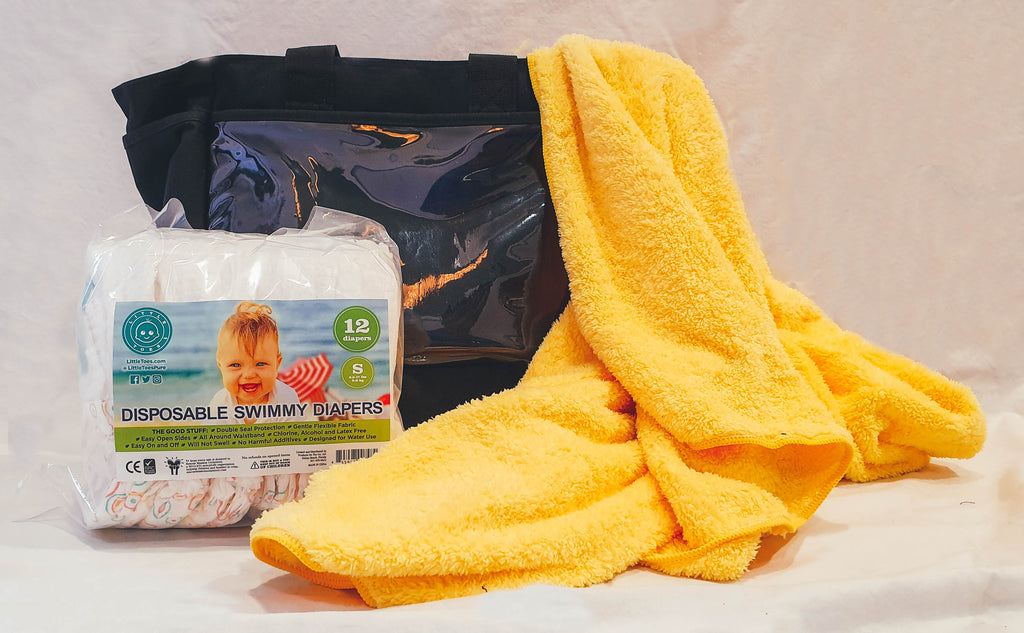 Swimmy Bundle with Swim Diapers 12 Pack