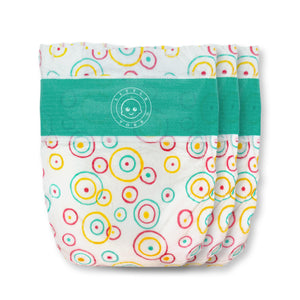 Little Toes Convenience On The Go 3x Diapers | Size Small (8-17 lbs)