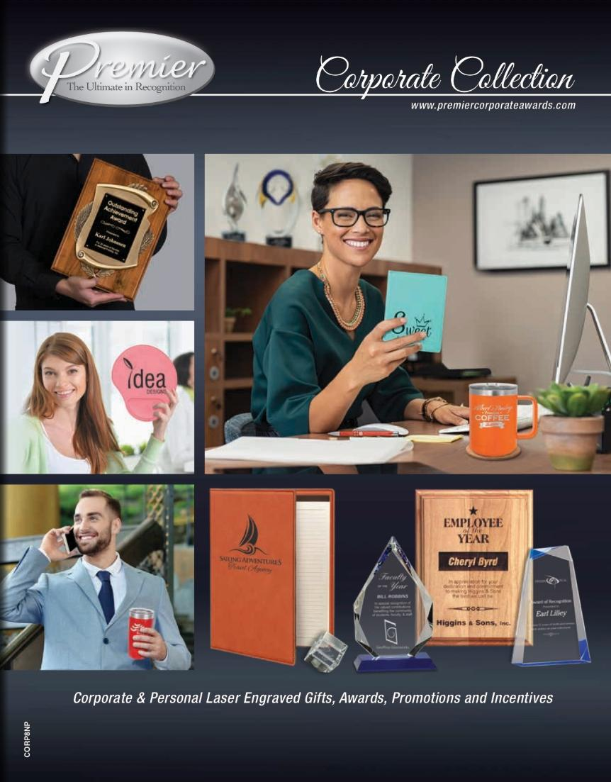 Premier Corporate Collection Catalog Cover