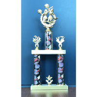 2-Tier Cheerleading Trophy