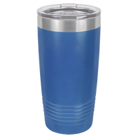 Royal Blue 20 oz Tumbler with Lid