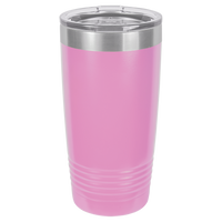 Light Pink 20 oz Tumbler with Lid