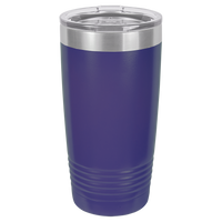 Purple 20 oz Tumbler with Lid