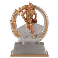 To The Hoop Basketball Resin - Male