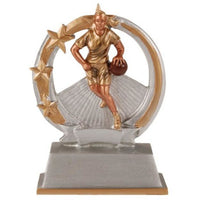 To The Hoop Basketball Resin - Female