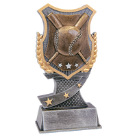 Baseball Shield Trophy