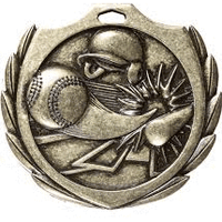 Baseball Diamond Medal
