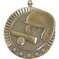 Baseball 5 Star Medal