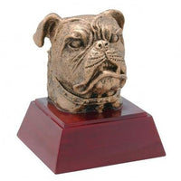 Bulldog Resin Trophy
