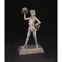 Cheerleader Resin Trophy