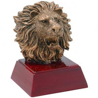 Lion Resin Trophy