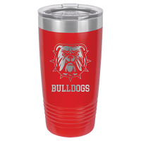 Red 20 oz Tumbler with Lid