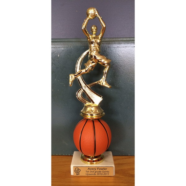 Spin Basketball Trophy