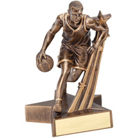 Superstar Basketball Trophy - Male