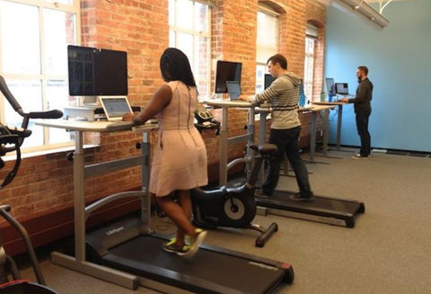 Treadmill Standing Desk Standly
